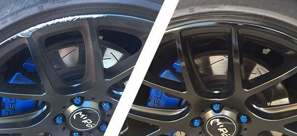Alloy wheel repair Melbourne
