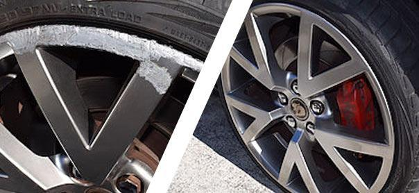 Alloy wheel repair cost Melbourne