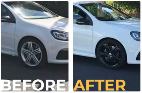 Alloy wheel paint Melbourne